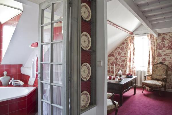 Chambre rouge la Guérandière