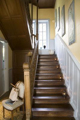 Escalier Hôtel particulier La Guérandière