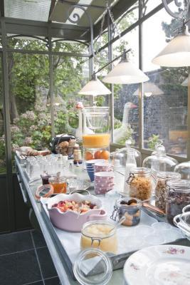Buffet des petits déjeuners à la Guérandière