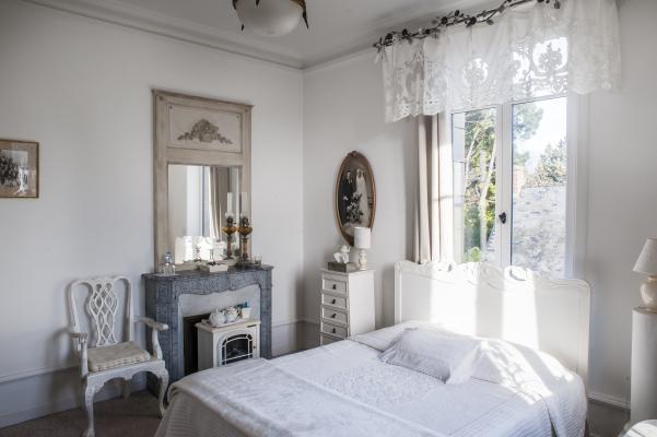 chambre blanche la Guérandière
