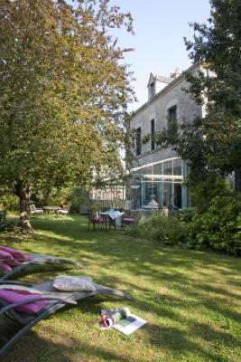 Jardin et verrière de la Guérandière