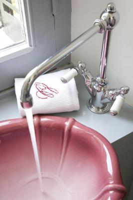 Lavabo chambre rose