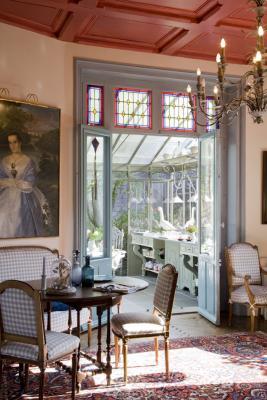 salon maison d'hôtes La Guérandière